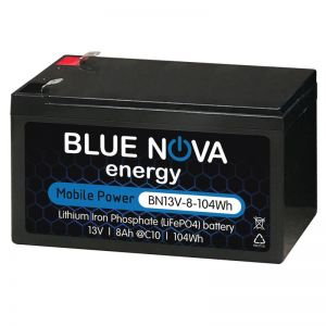 Blue Nova 8Ah Lithium Drop in replacement battery